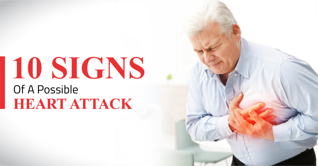 Signs Of A Possible Heart Attack