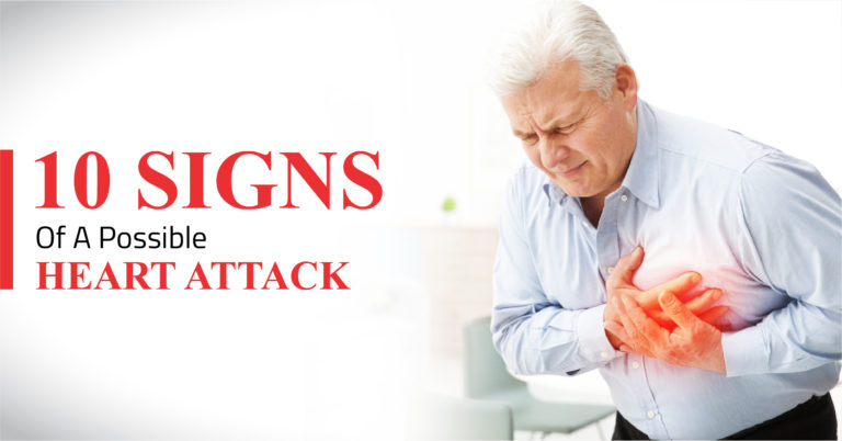 10 Signs Of A Possible Heart Attack
