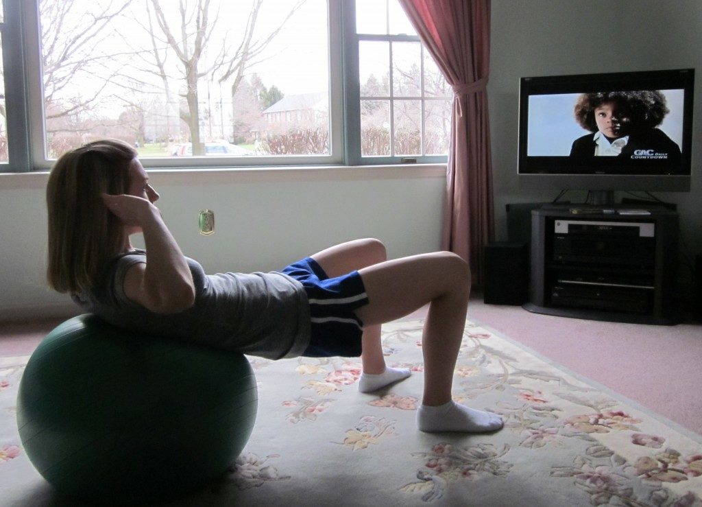 GET FIT WHILE YOU WATCH YOUR TV